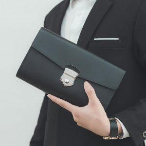 ví cầm tay nam khóa số ck10-1